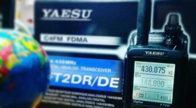 YAESU FT2DE nuovo aggiornamento software. FUSION (C4FM,FDMA) prime impressioni e prove sul campo.