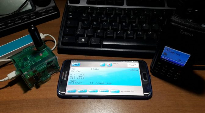 Hotspot ultra-portatile DVMEGA su BLUESTACK Bluetooth (DMR,DSTAR,C4FM)